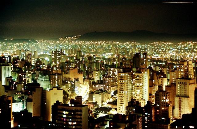 São Paulo - Skyline by night