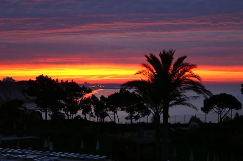 praia beach portugal strand sunrise algarve falesia