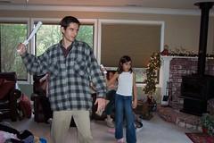 Jon and Sophia play Wii