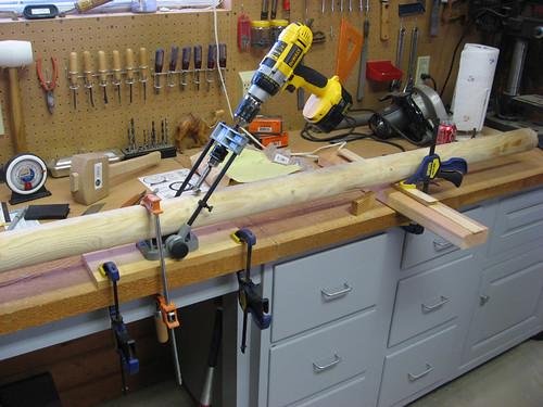 angle drilling jig