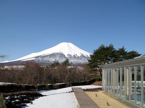 富士山 from マウント富士ホテル
