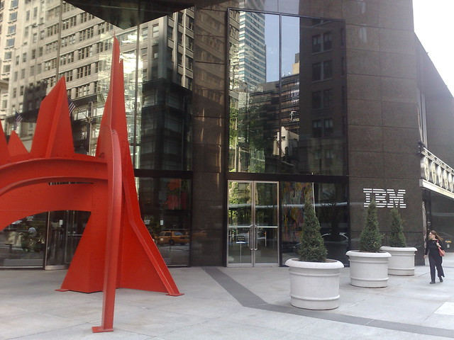 New York 590 Madison Avenue IBM Flickr Photo Sharing