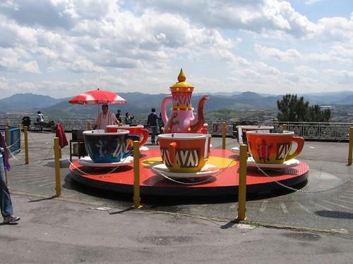 amusement park on Monte Igueldo