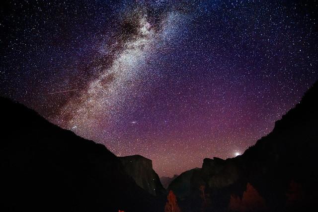 Andromeda and El Capitan