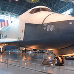 Steven F. Udvar-Hazy Center: Space Shuttle Enterprise (nose view)
