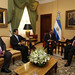 Secretary General Meets with President of El Salvador
