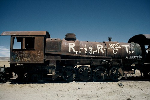 """Clever Loco"", Steam Locomotive, Uyuni, Bolivia"