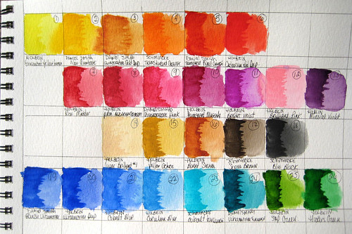 My Watercolor Palette