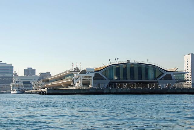 Osanbashi Pier : 横浜港大さん橋