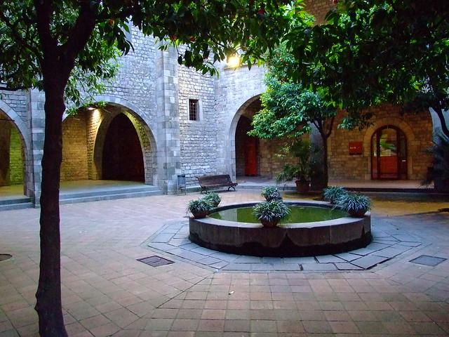 Pati del Museu Frederic Marés, Barcelona