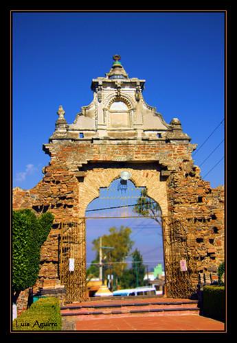 La puerta de Acatepec