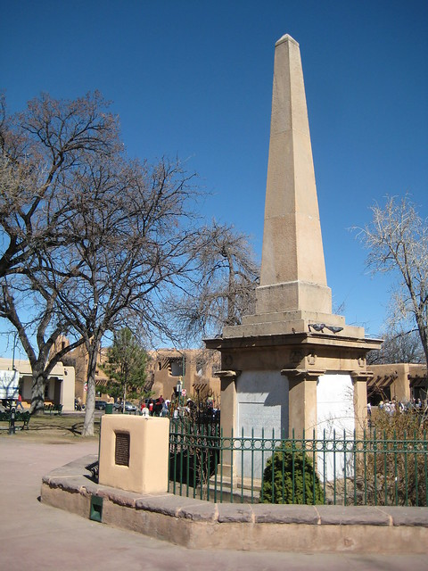 Santa Fe News >> Santa Fe Plaza Obelisk Erected In 1868 | Flickr - Photo ...