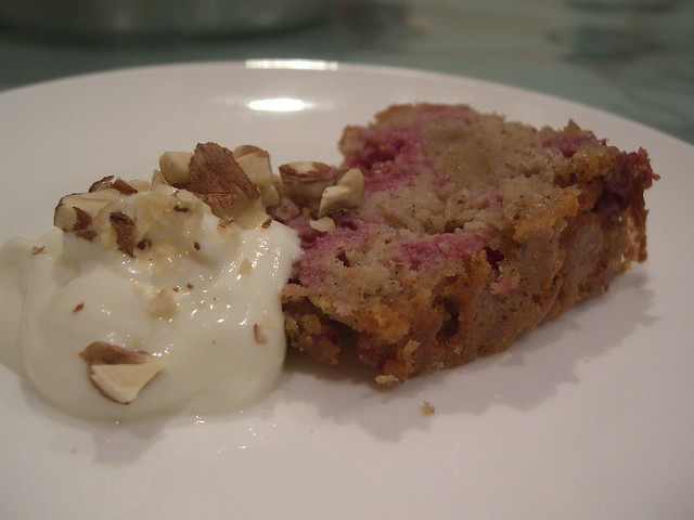 Aunt Lee Geok's Raspberry, Glace Ginger, Hazelnut Flourless Cake with ...