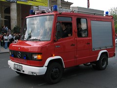 Mercedes 814 Rosenbauer TLF 1000 AT