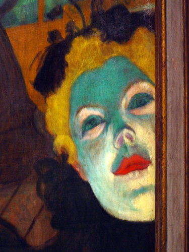At the Moulin Rouge - detail