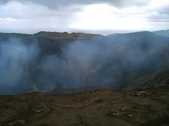 loch(0.0), mountain(1.0), volcano(1.0), volcanic crater(1.0), ridge(1.0), plateau(1.0), fell(1.0), terrain(1.0), volcanic landform(1.0),