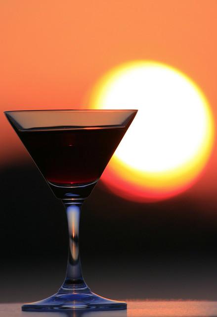 Sunset Wine2