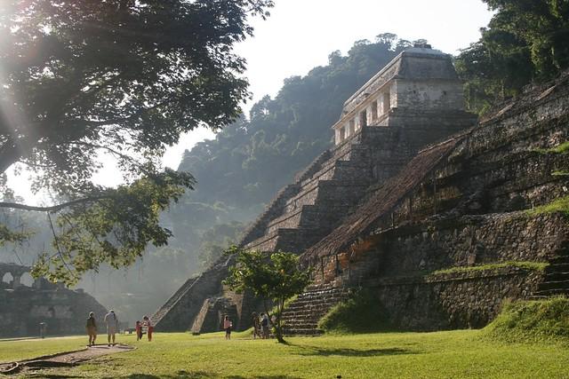 Паленке в Мексике