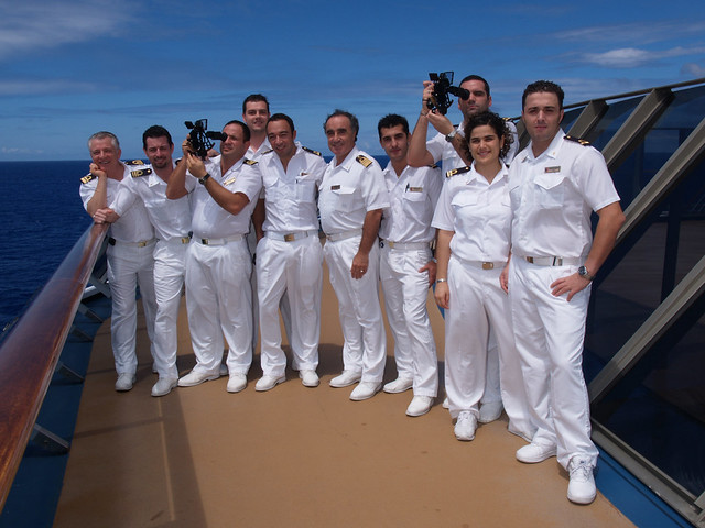 carnival cruise lines meet the crew