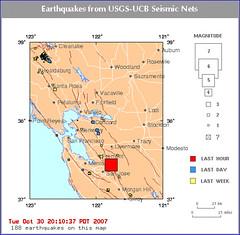 My first earthquake