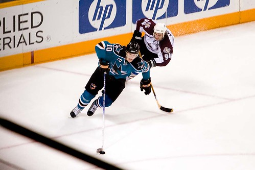 Christian Ehrhoff and Ryan Smyth