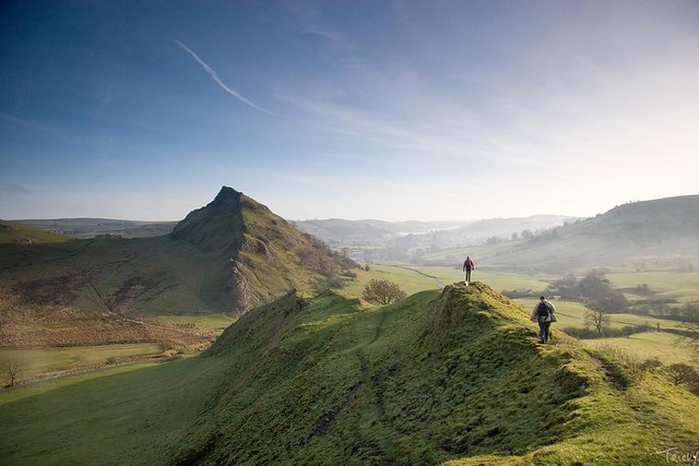 Chrome Hill (bottom) to Parkhouse Hill | Flickr - Photo ...
