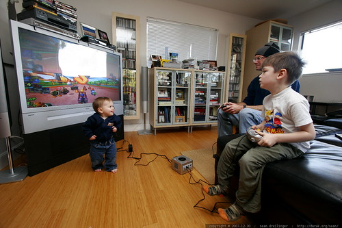 infantile interference with the mario kart race    MG 8552
