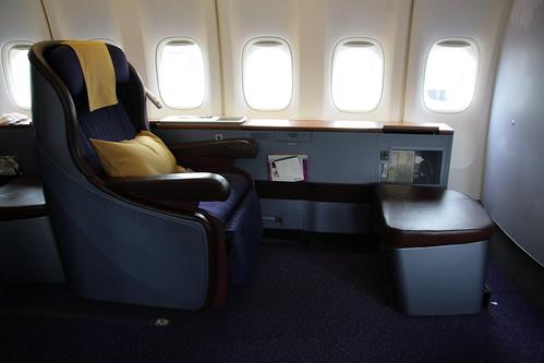 Thai First Class Seat (1A)