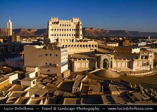 Yemen - Say'un - Saywun - Historical town in Hadhramaut Valley