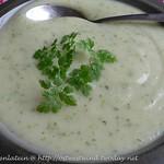 Chervil Kohlrabi Soup