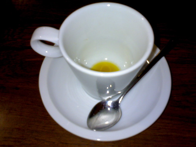 Empty cup of tea - Too lazy   Flickr - Photo Sharing!