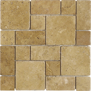 Travertine Tile Flooring French Pattern Flickr Photo
