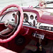 1955 Desoto cockpit(very pink)