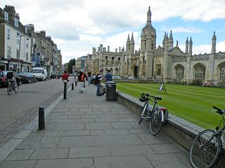 Kings Parade: Cambridge UK