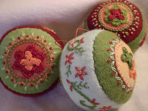 Handmade Pincushion/Christmas Ornaments