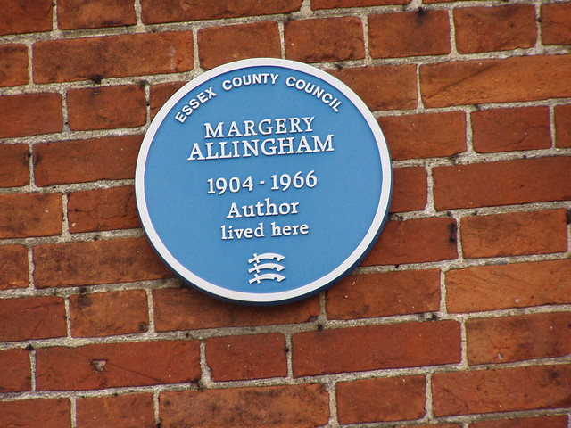 Photo of Margery Allingham blue plaque