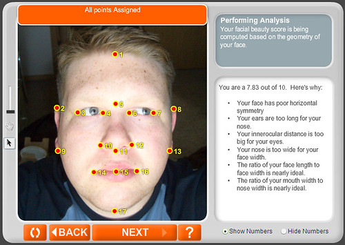 "My Anaface ""Facial Beauty"" Analysis"