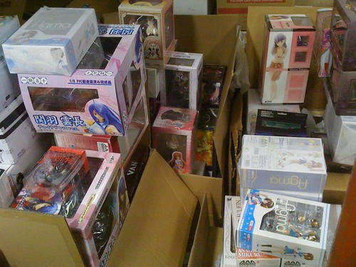 Some of my anime figure inventory