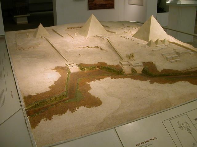 Great Giza Pyramids model