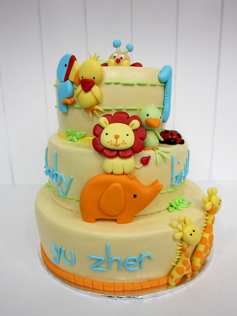 Cute Animal Cake Toppers