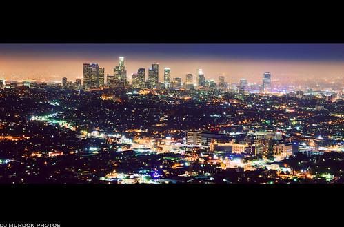 longexposure skyline landscape lights la losangeles cityscape sony nighttime alpha nite a850