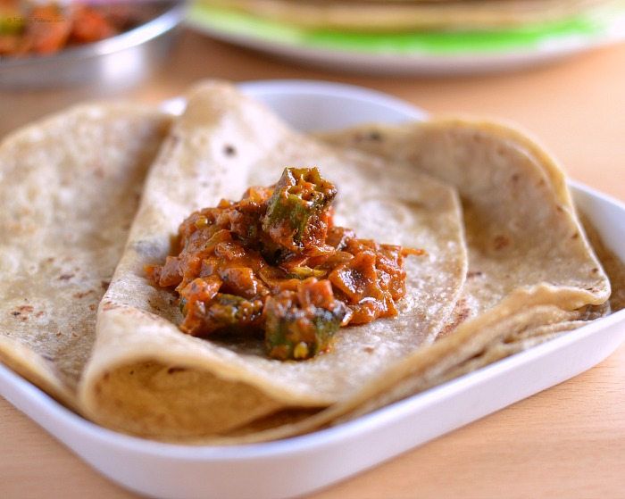 Side dish for chapathi or rotis