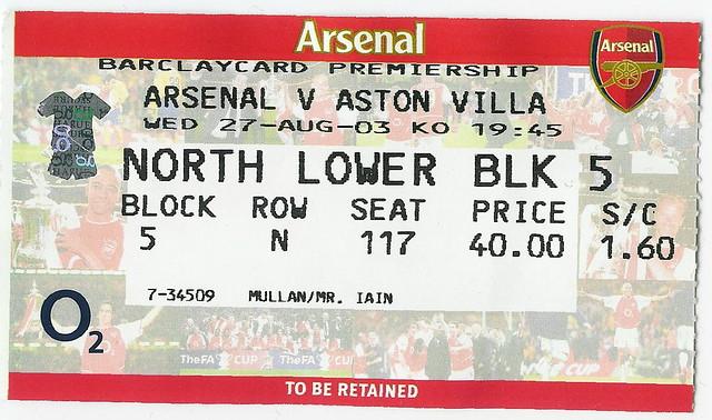 Aston Villa Tickets For Preston