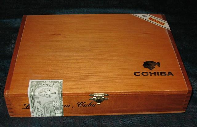 Cohiba Cigar Box Cake