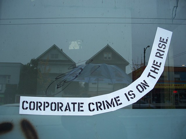 corporate crime is on the rise