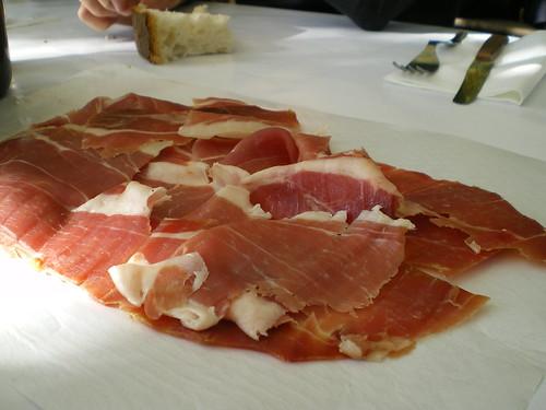 hand-cut prosciutto