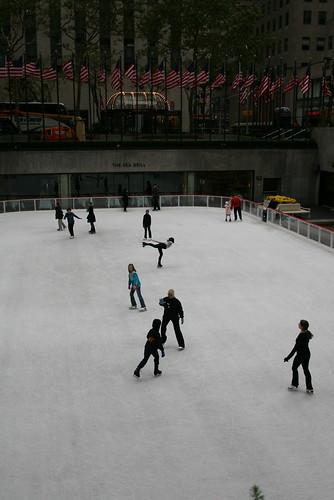 Ice Skating at Rockafeller Center