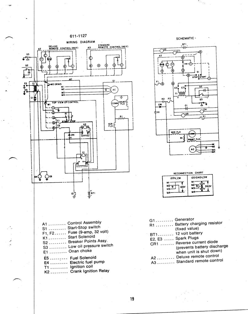 Onan Cck Wiring Diagram | Wiring Diagram Onan Genset Wiring Diagrams on