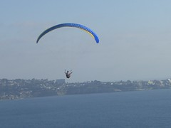 wing(0.0), powered paragliding(0.0), paragliding(1.0), parachute(1.0), air sports(1.0), sports(1.0), parachuting(1.0), windsports(1.0), extreme sport(1.0),
