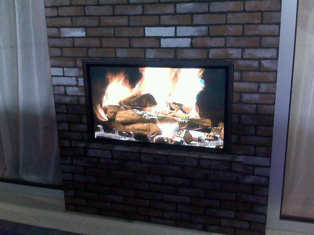 Digital Fireplace roberto fireplace from fireplaces are us ...